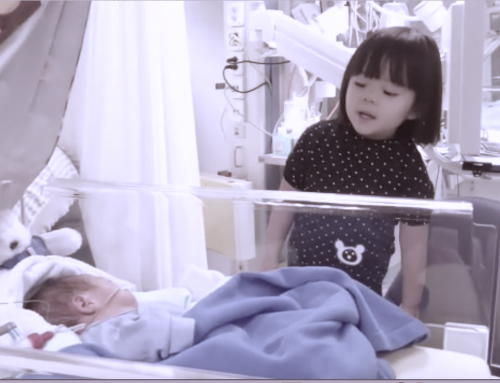 Music is love – our daughter singing for her preemie brother