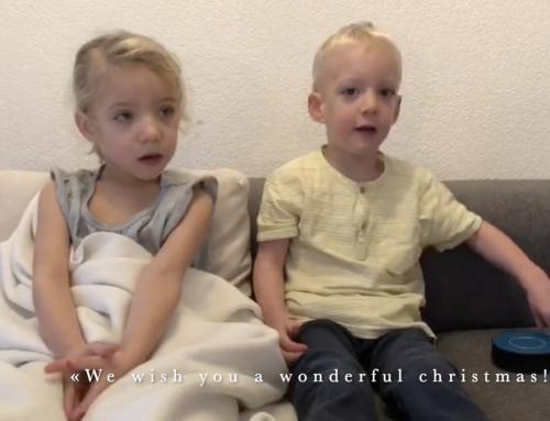 Magic music moment with premature children singing