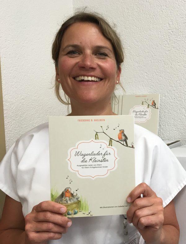 Bild Wiegenlieder und Friederike Haslbeck